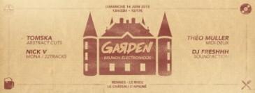 Le Garden le brunch électronique estival