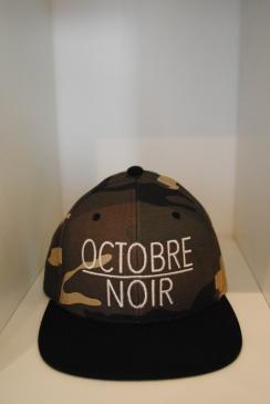 Casquette Octobre Noir