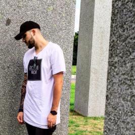 Nils, créateur de la marque Octobre Noir