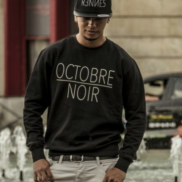 Sweat crewneck Octobre Noir