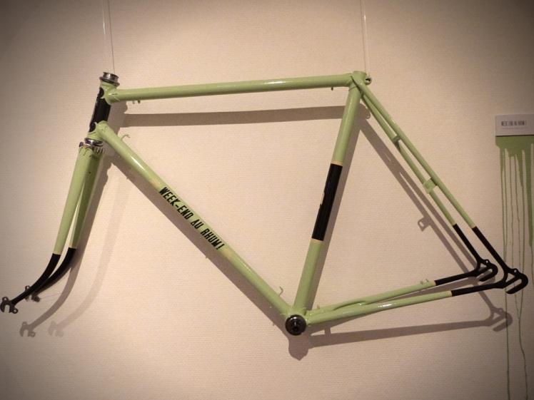 Customisation d'un cadre de vélo par Atelier Vandale @Valérie Soriano