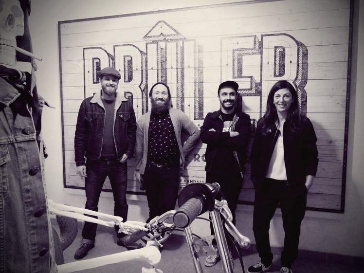 Association Atelier Vandale spécialisée dans la rénovation et customisation de vélos vintage