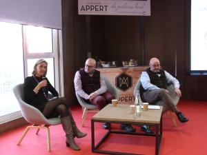 Conférence de presse Monsieur Appert au centre culinaire contemporain