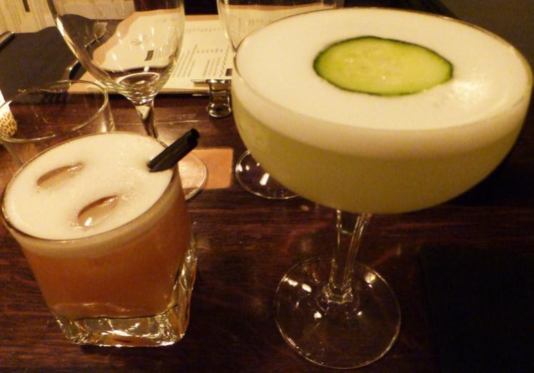Cocktails avec alcool au restaurant les Bricoles