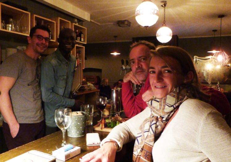 L'équipe du restaurant les Bricoles