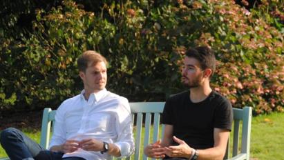 William & Benoît, les organisateurs du Garden