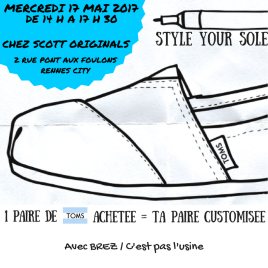 Style your sole à Rennes
